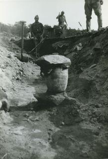 [Descobriment d'unes ceràmiques a Agullana]