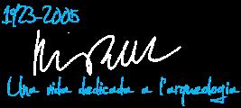 Signatura Pere de Palol i Salellas