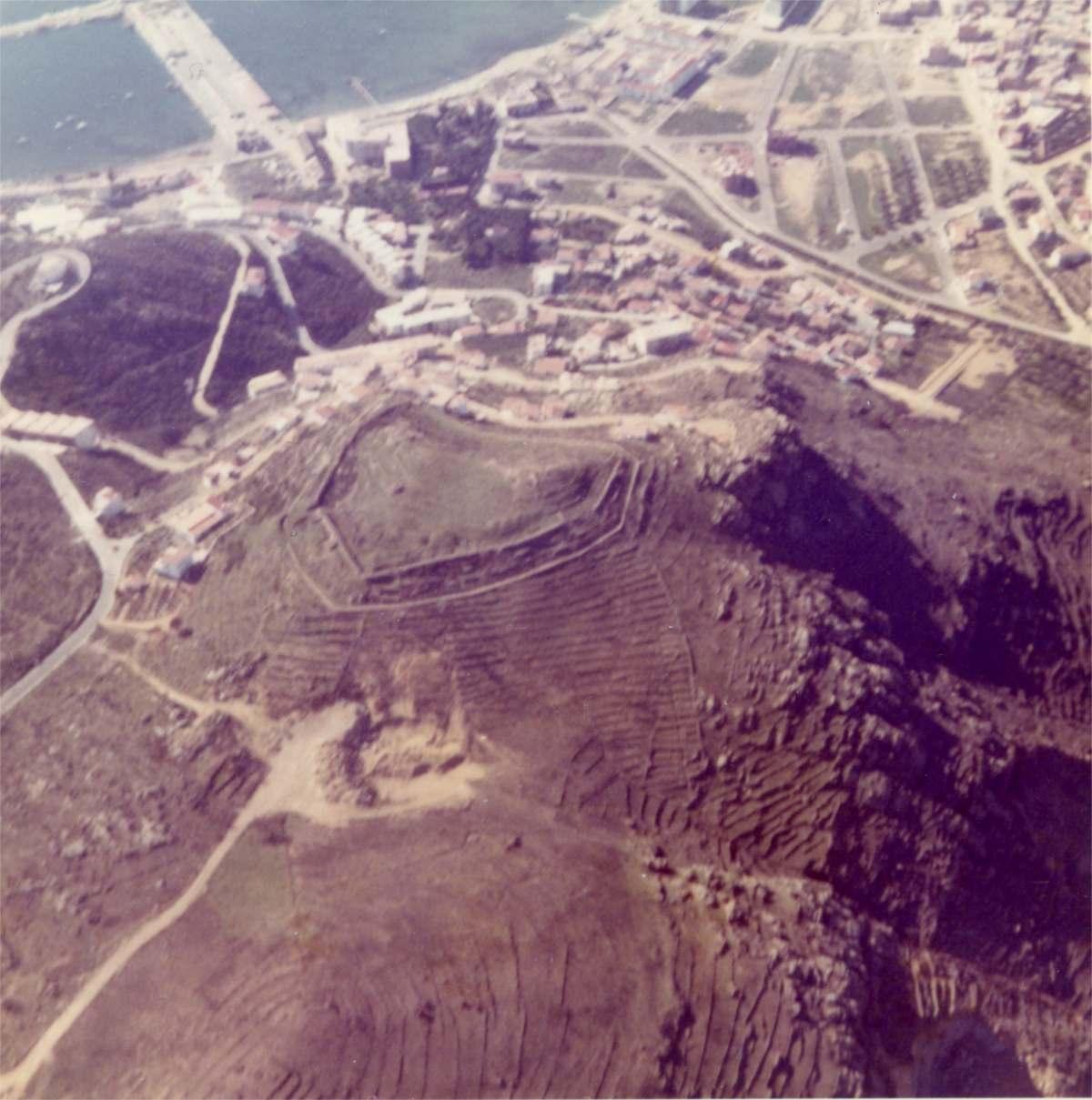 Vista aèria Puig Rom