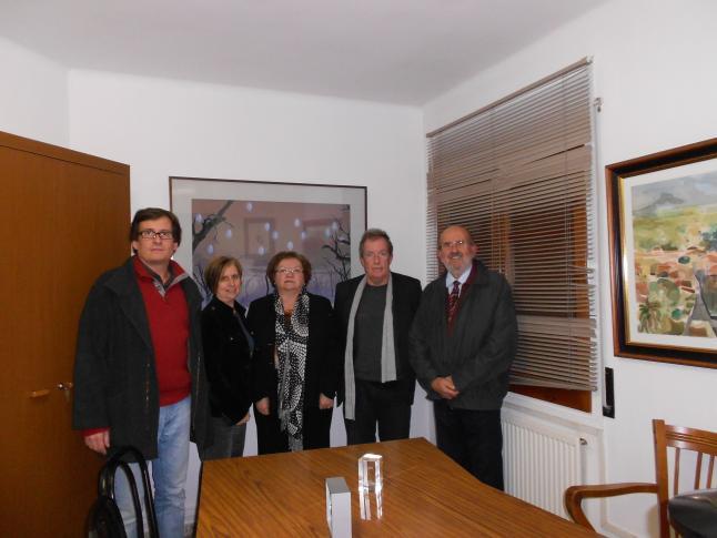Ester Arché Salellas guanyadora beca de difusió a la figura del Dr. Palol